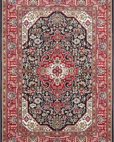Červeno-modrý koberec Nouristan Skazar Isfahan, 200 x 290 cm