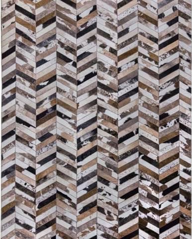 Hnědý koberec Flair Rugs Jesse, 120 x 170 cm