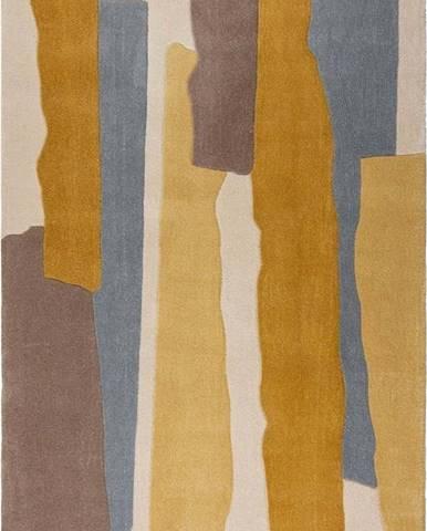 Šedo-žlutý koberec Flair Rugs Escala, 160 x 230 cm