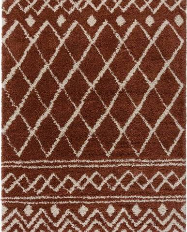 Tmavě červený koberec Flair Rugs Souk, 160 x 230 cm