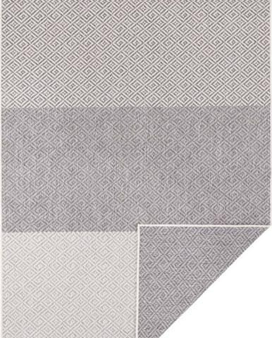 Světle šedý oboustranný venkovní koberec Bougari Maui, 200 x 290 cm