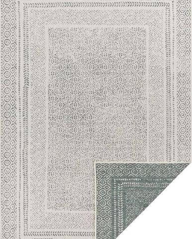 Zeleno-bílý venkovní koberec Ragami Berlin, 200 x 290 cm