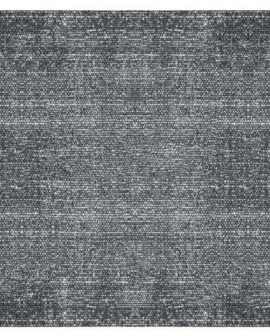 Černý bavlněný koberec PT LIVING Washed, 140 x 200 cm