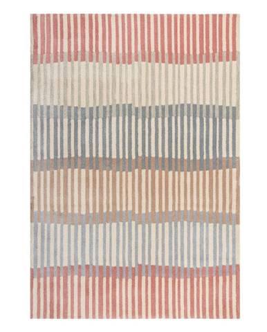Šedo-béžový koberec Flair Rugs Linear Stripe, 120 x 170 cm