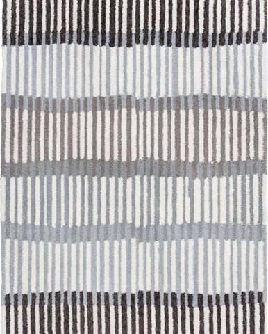 Šedý koberec Flair Rugs Linear Stripe, 120 x 170 cm