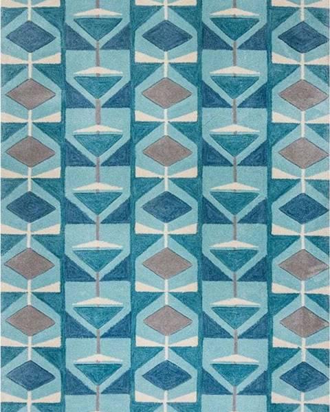 Flair Rugs Modrý koberec Flair Rugs Kodiac, 120 x 170 cm