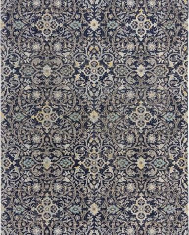 Modrý koberec Flair Rugs Daphne, 160 x 230 cm