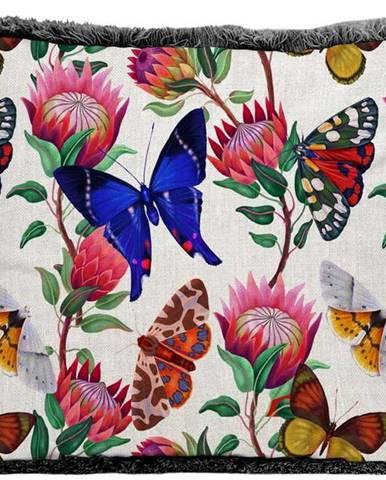 Polštář Surdic Fleco Garden Colorful, 35 x 50 cm