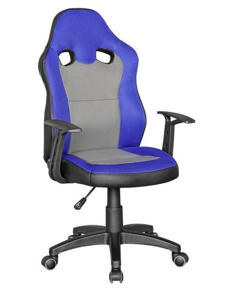 Möbelix Otočná Židle Pro Dítě Speedy Modrá/šedá