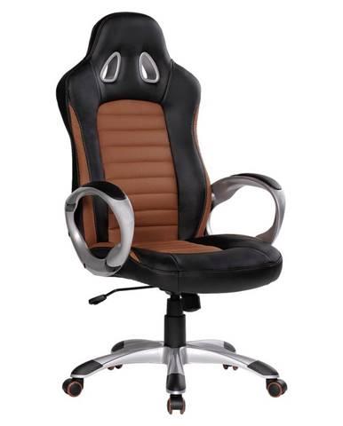 Herní Židle Racer Hnědá