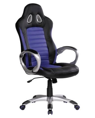 Herní Židle Racer Modrá