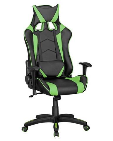 Herní Židle Score Černá/zelená