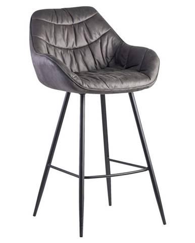 Barová Židle Wohnling Šedá