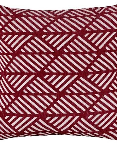 Povlak Na Polštář Mary Jacquard, 45/45cm,bordová