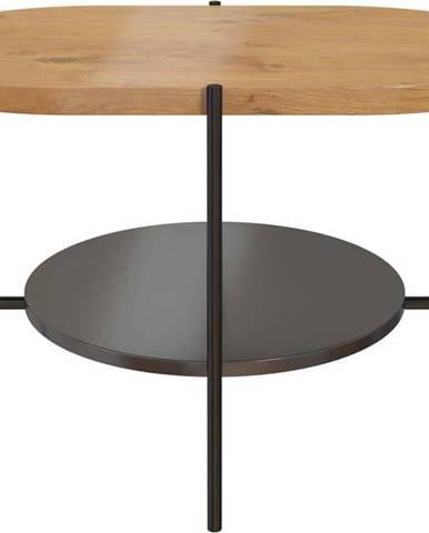 Konferenční stůl s podnožím v černé barvě Skandica Arena