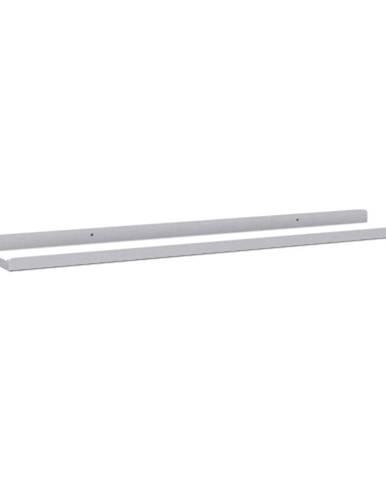 Bílá polička na obrázky Rowico Metro, šířka 70 cm