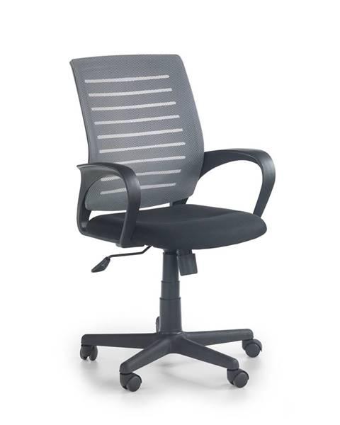 Smartshop Kancelářská židle SANTANA, černá/šedá