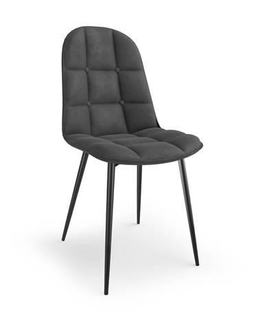 Jídelní židle K-417, šedá