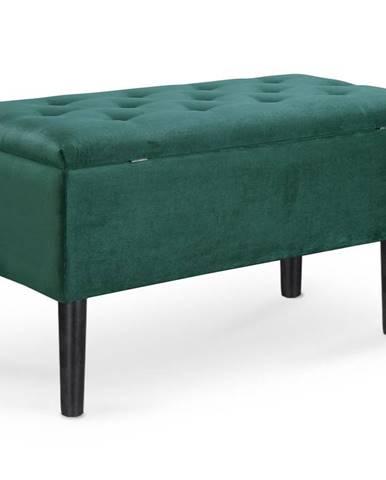 Lavice CLEO, tmavě zelená