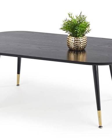 Konferenční stolek EMBOSA, černá