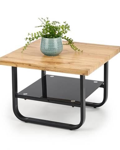 Konferenční stolek ESPINOZA KWADRAT, dub/černá