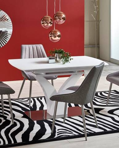 Rozkládací jídelní stůl PALERMO, bílá