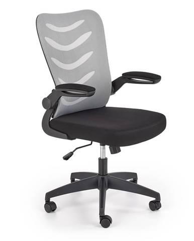 Kancelářská židle LOVREN, černo-šedá