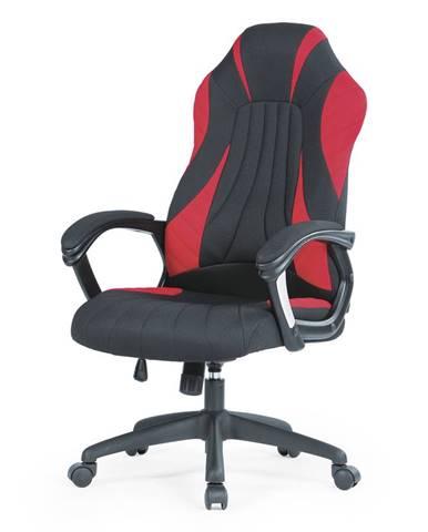 Kancelářská židle SHERIFF, černo-červená