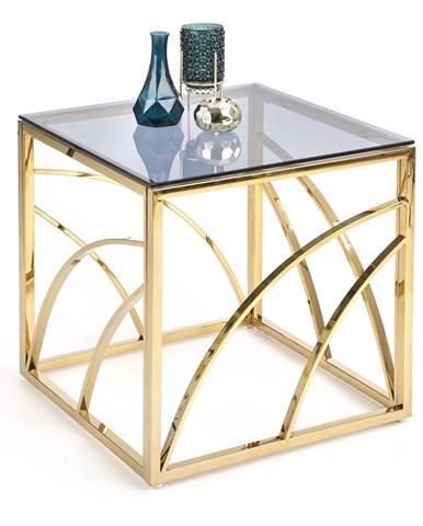 Konferenční stolek UNIVERSE KWADRAT, zlatá