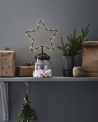 Černá vánoční světelná dekorace Markslöjd Sweetie
