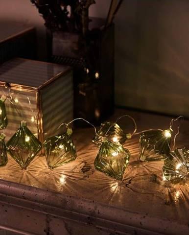 Světelný LED řetěz Sirius Nellie Green, délka 180 cm