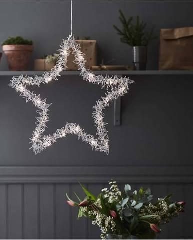 Vánoční závěsná světelná dekorace Markslöjd Tangle Star,výška45 cm