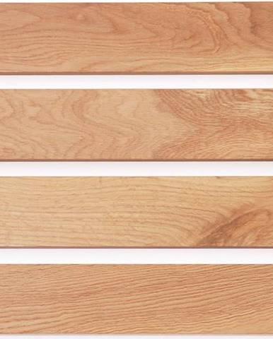 Dřevěná podložka do koupelny z dubového dřeva Wireworks Apartment