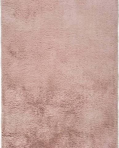 Růžový koberec Universal Alpaca Liso, 80 x 150 cm