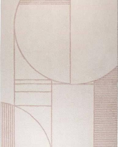 Šedo-růžový koberec Zuiver Bliss,160x230cm
