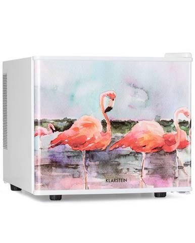 Klarstein Pretty Cool, chladnička na kosmetiku, Flamingo, 17 litrů, 50 W, 1 police