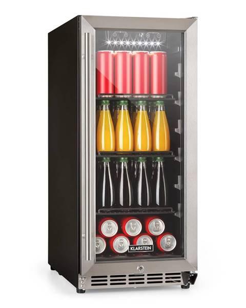 Klarstein Klarstein FreshAir 90, outdoor lednice, 4 patra, 3 přihrádky, IP24, UV filtr, nerez