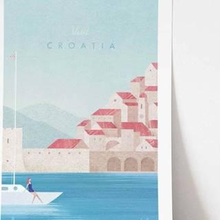 Plakát Travelposter Croatia, A2