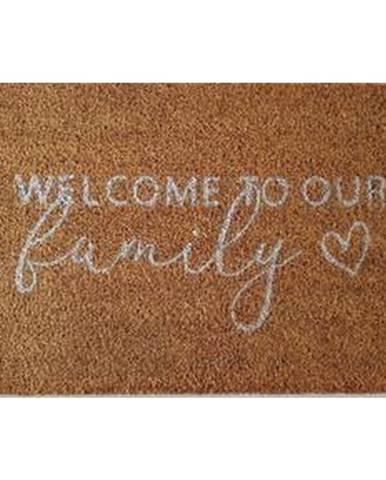 Dveřní Rohožka Welcome To Our Family, 40/60cm